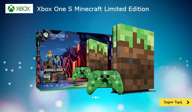Microsoft Xbox One S Minecraft Edition